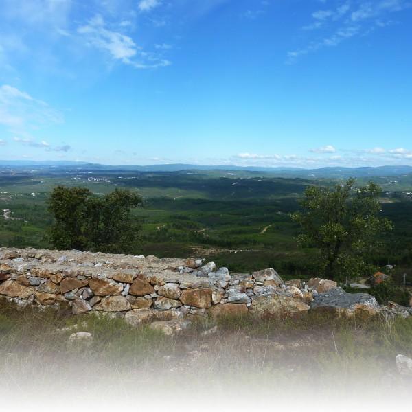 Uitzicht op heuvels vanaf Colos