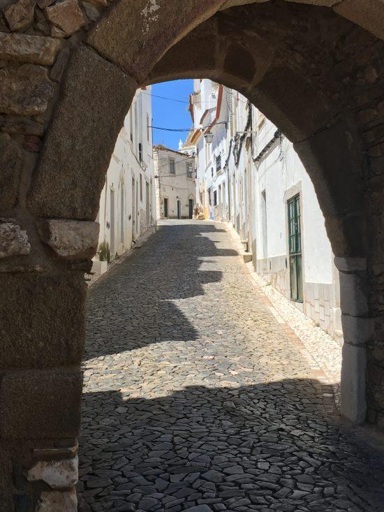 Estremoz ingang naar de bovenstad